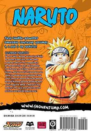 Naruto: Edición 3 En 1, Vol. 1 (uzumaki Naruto / El