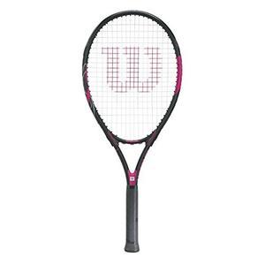 Raqueta De Tenis Wilson Womens Hope, Negro / Rosa, 4 1/4