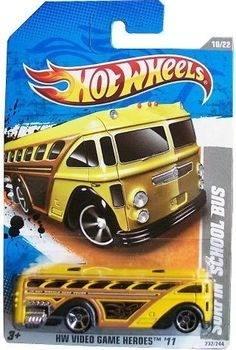 School Bus Escolar Escala Coleccion Hot Wheels