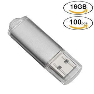 Venta Por Mayor 100pcs 16gb Usb Flash Drives Stick De Alta