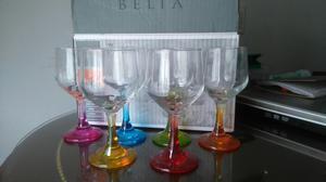 Set de copas y vasos belia 12 piezas posot class for Vasos y copas