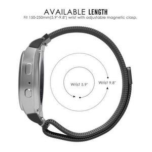Equipo Samsung S2 Reloj Banda De Acero Inoxidable Pulsera