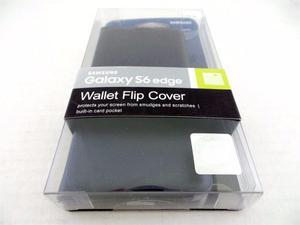 Estuche Samsung Wallet Flip Cover Galaxy S6 Edge Liquidacion