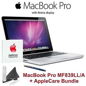 Laptop Manzana Mf839ll / A Macbook Pro + Applecare Bundle