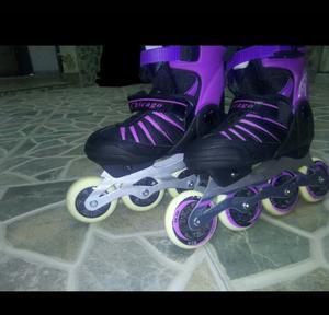 Venta de patines.