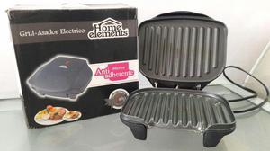 grill asador electrico home elements