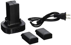 Matney 2 Pack Xbox 360 Batería Recargable + Estación