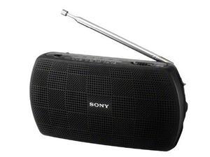 Sony Radio Portátil Estéreo Srf-18 / B Negro