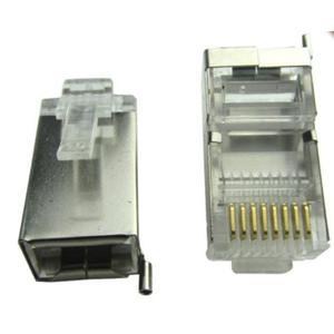 2 Conectores Rj45 Cat 5, Blindado, Edswire X 100u