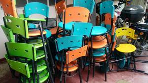 Menaje Sillas Mesas para Restaurante O N