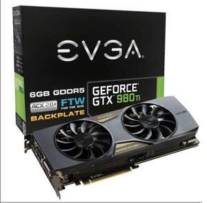 Tarjeta De Video - Evga Geforce Gtx 980 Ti Ftw