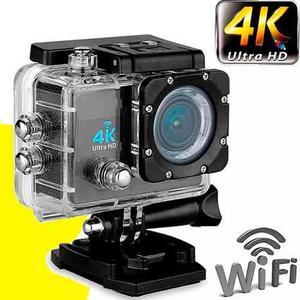 Camara Wifi Video 4k Ultra Hd16mp Deportes Agua +enviogratis
