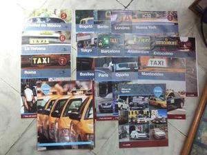 Colección carros a escala Taxis del Mundo de EL Tiempo