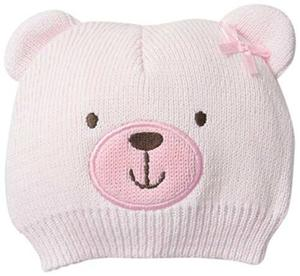 Gorro Para Recien Nacido Little Me Color Rosa 0-12 Meses