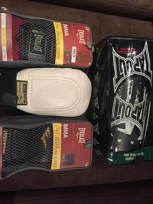 Guantes MMA Everlast, Canilleras MMA Tapout, Guantes Ponny