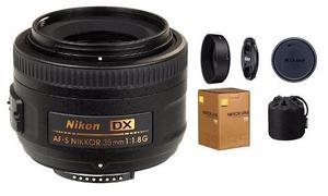 Lente Fijo Nikon 35mm Af-s Dx Nikkor F: 1.8g