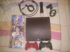 Playstation 3 Slim 2 Controles Control De Movimiento Juegos
