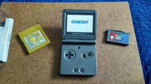 Nintendo Gameboy Advance Sp Pokémon Gold
