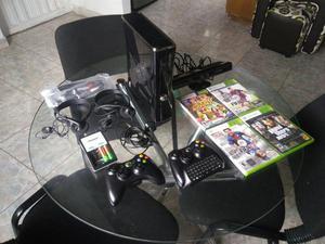XBOX 360 Slim ORIGINAL 40 Juegos 2 controles y accesorios