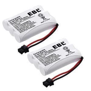 Ebl Teléfono Inalámbrico 2 X mah Batería Para Uniden