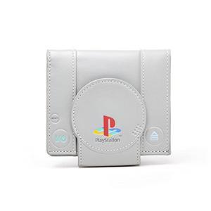 Billetera Para Consola Sony Playstation Color Gris