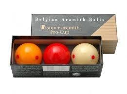 Bolas De Billar Pro Cup Aramith Pecosa Original