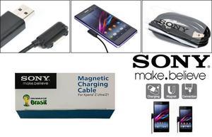 Cable Cargador Magnético Sony Xperia Z1 Z2 Z3