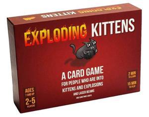 Exploding Kittens:juego De Cartas Sobre Gatos Y Explosiones.