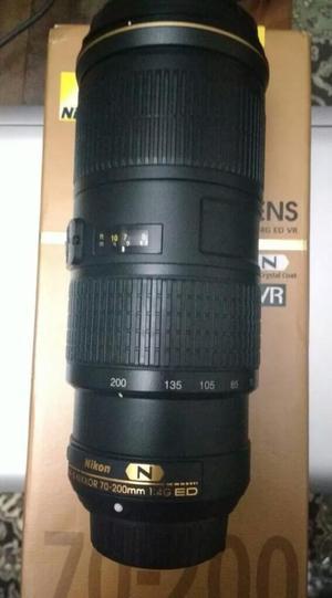 Lente Nikon  Mm 4g