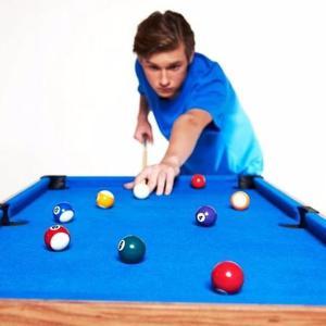 Mesa Combinada Multi-juegos 3-en-1, Billar, Hockey Y Fútbol