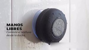 Parlante Manos Libres Bluetooth Anti Agua Ducha