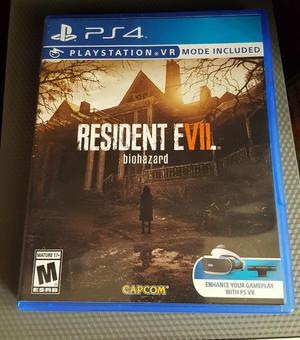 Resident Evil Biohazar Playstation 4