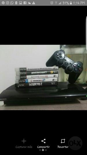 Se Vende Ps3 Super Slim