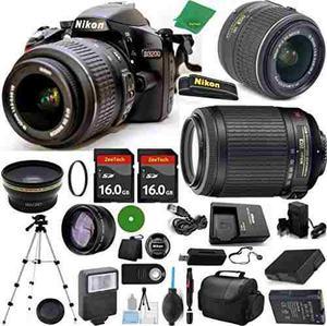 Camara Nikon D, Nikkor mm F/ Vr, Nikon 55