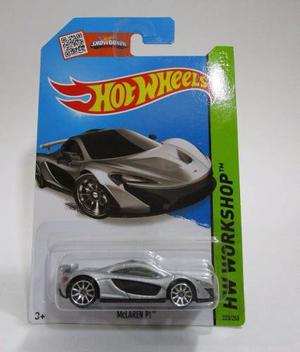 Carro Deportivo Mclaren Escala 1/64 Coleccion Hot Wheels