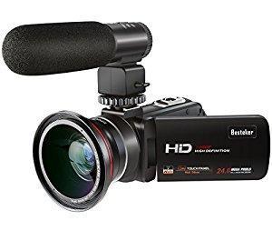 Cámara Videocámaras, Besteker p 30 Fps Wifi Microfono