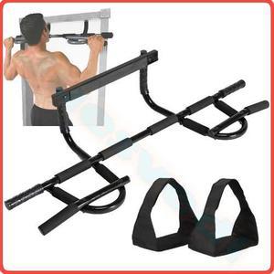 Iron Door Gym Xtreme Barra Ejercicio Para Puerta Abrazaderas