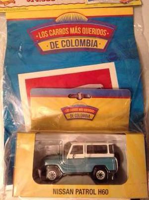 Nissan Patrol De Coleccion Los Mas Queridos De Colombia 1/43