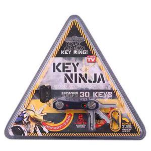 Organizador De Llaves Expansible Luz Led Dual Key Ninja