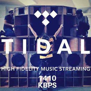 Tidal Hi-fi 6m/prem. Mejor Que Spotify