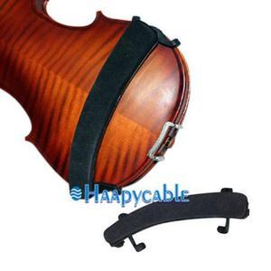 Violin De 1/2 Negro Nuevo Hombro Resto Totalmente Ajustable