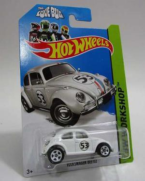 Volkswagen Herbie Escala Miniatura Coleccion Hot Wheels