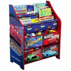 Organizador De Juguetes Y Libros De Cars De Disney