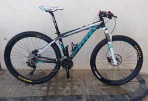 bicicleta scott scale rin 27.5 aluminio