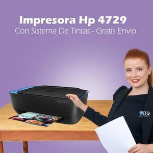 Impresora Hp  Con Sistema De Tintas - Gratis Envio