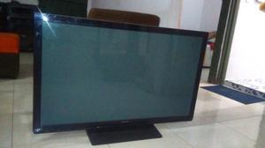 Televisor Plasma 42 Para Repuesto, Pantalla Rota