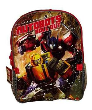 Transformers Large Backpack Con Bolsa De Almuerzo Aislada