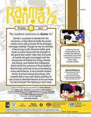 Ranma 1/2 - Serie De Tv Set 5 Bd Standard Edition [blu-ray]