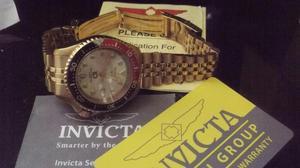 Reloj Invicta Original Oro Edicion Espec