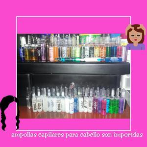 Vendo Ampollas Capilares para Cabello